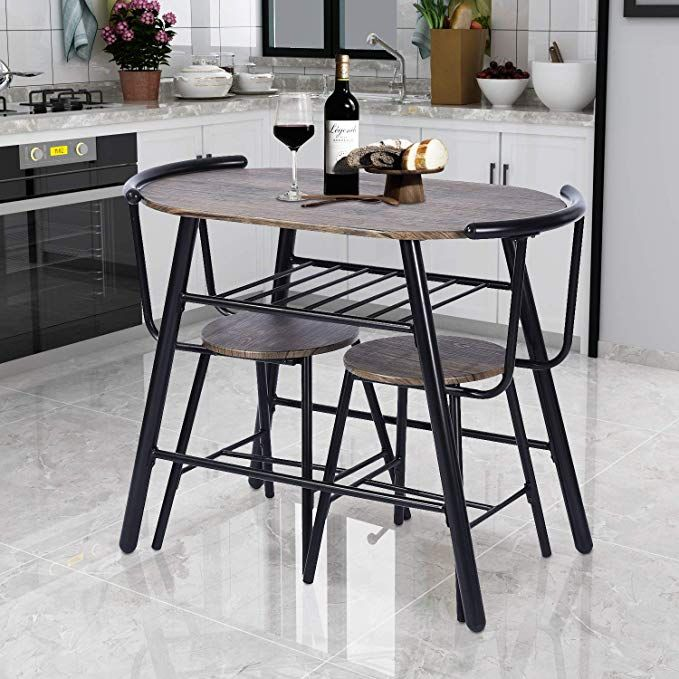 3 Piece Kitchen Table Set