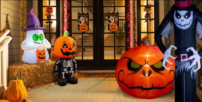 Party City Halloween Decorations