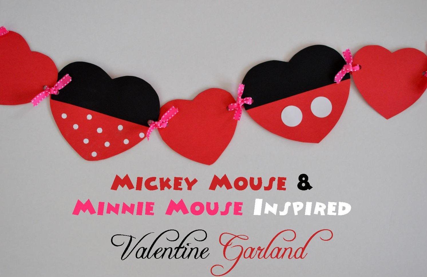 Disney Valentines Day Decorations
