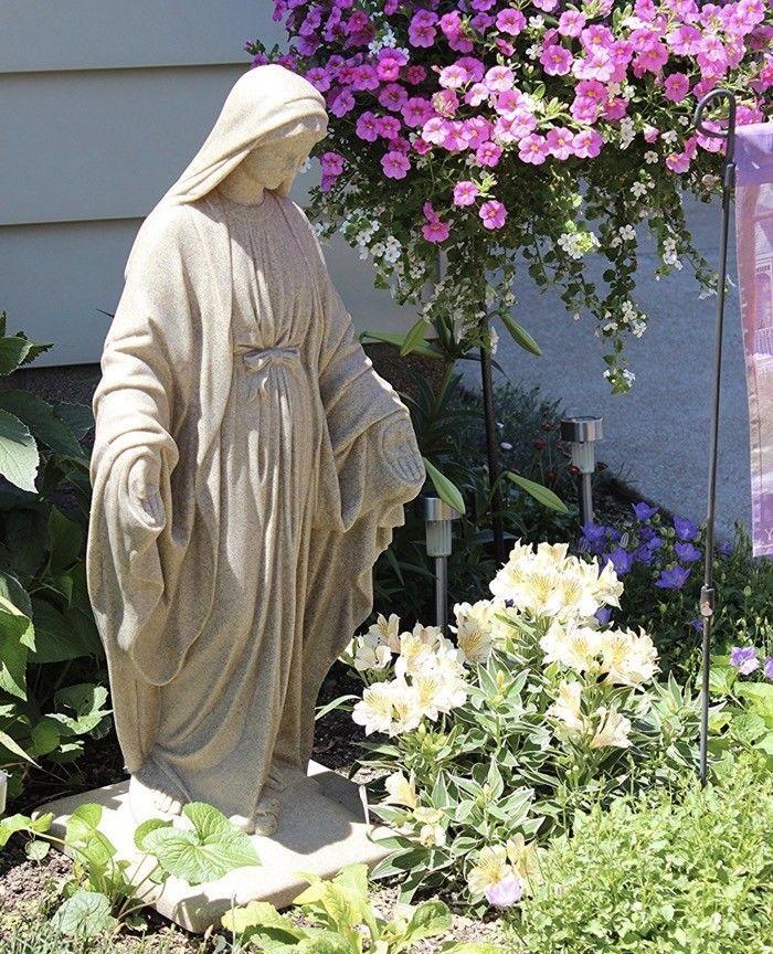 Virgin Mary Garden Ideas