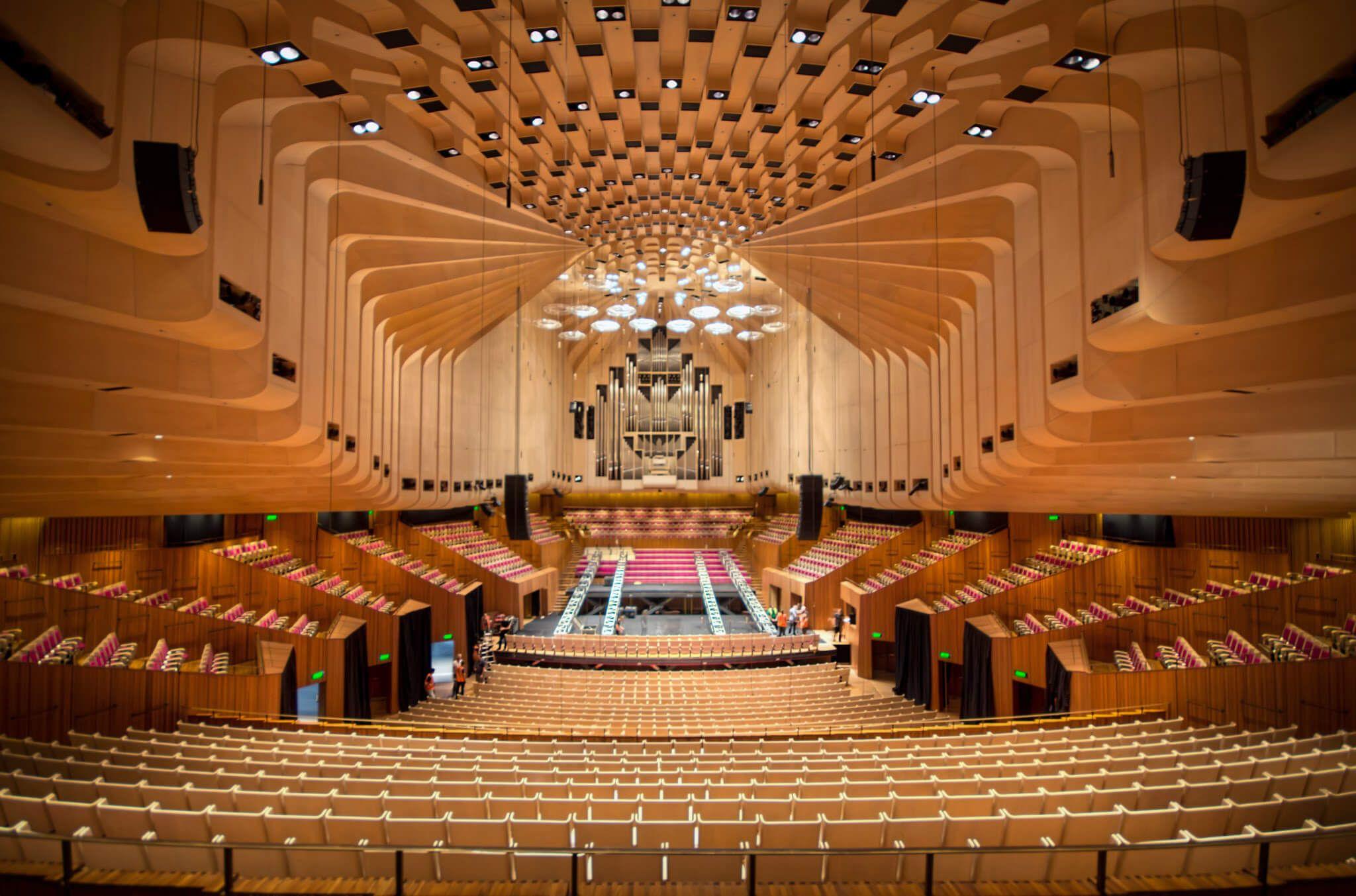 Sydney Opera House Interior