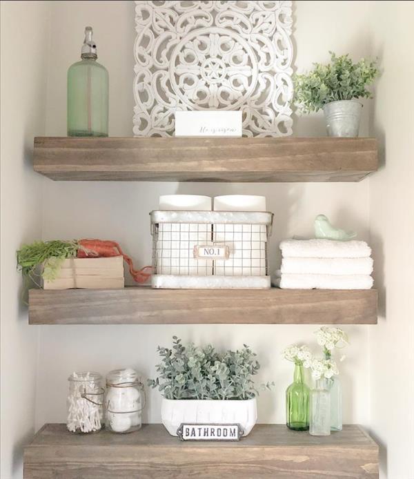 Modern Bathroom Shelves