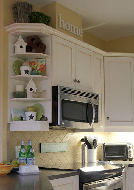 Kitchen Cabinet Corner Shelf