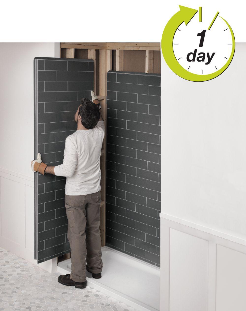 Bathroom Wall Board