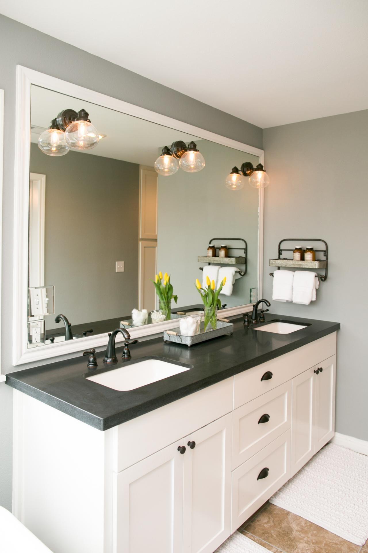 Black Bathroom Countertops
