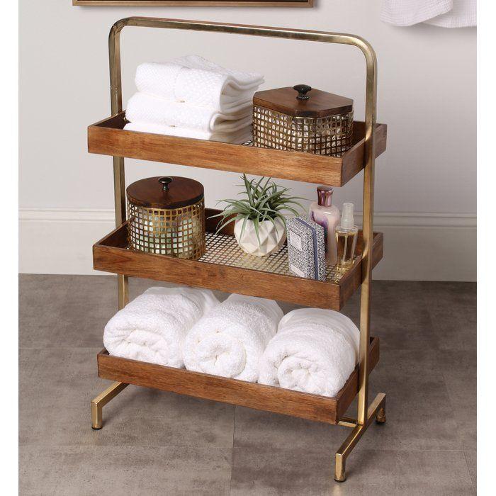 Free Standing Bathroom Shelves