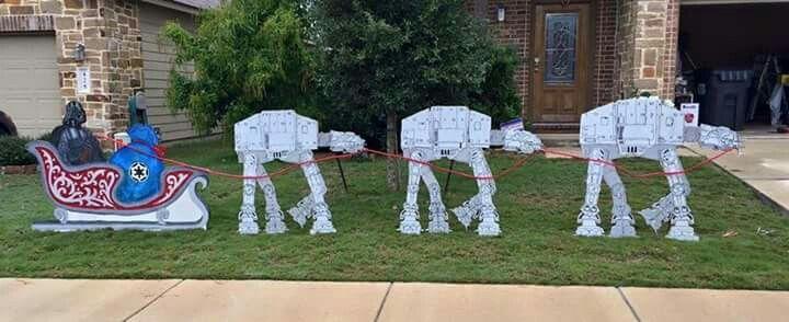 Star Wars Outdoor Decorations