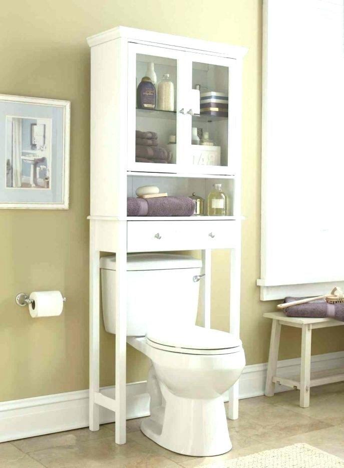 Bathroom Organizer Over Toilet