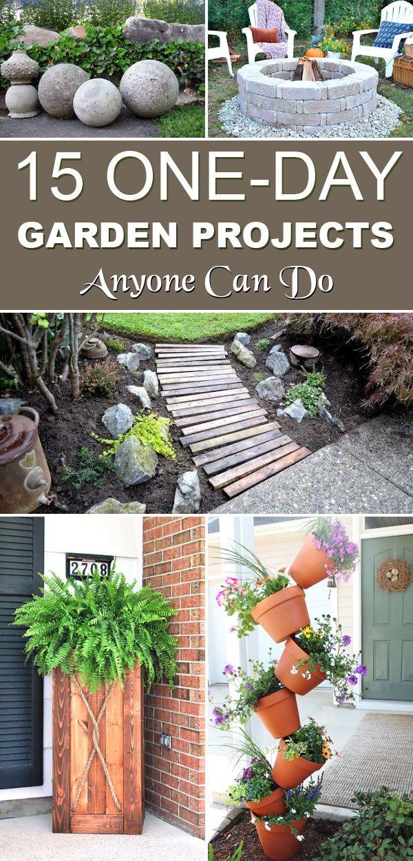 Small DIY Garden Ideas