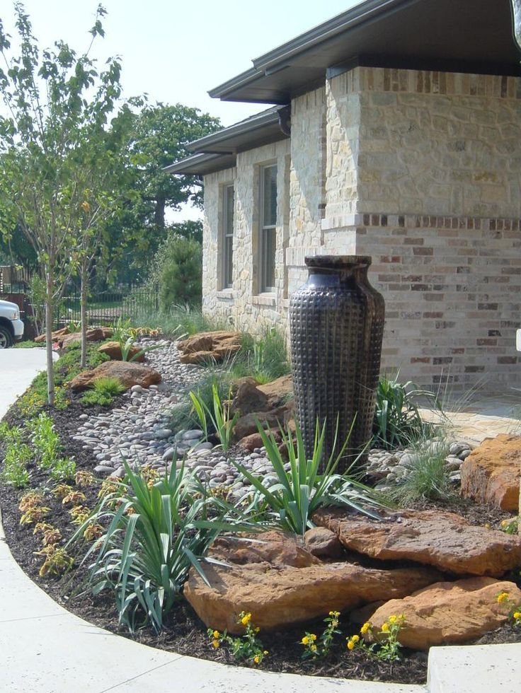 Front Yard Drought Tolerant Landscaping