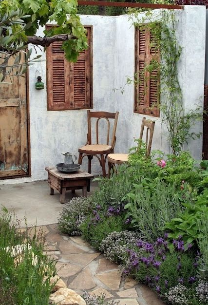 French Country Garden Ideas