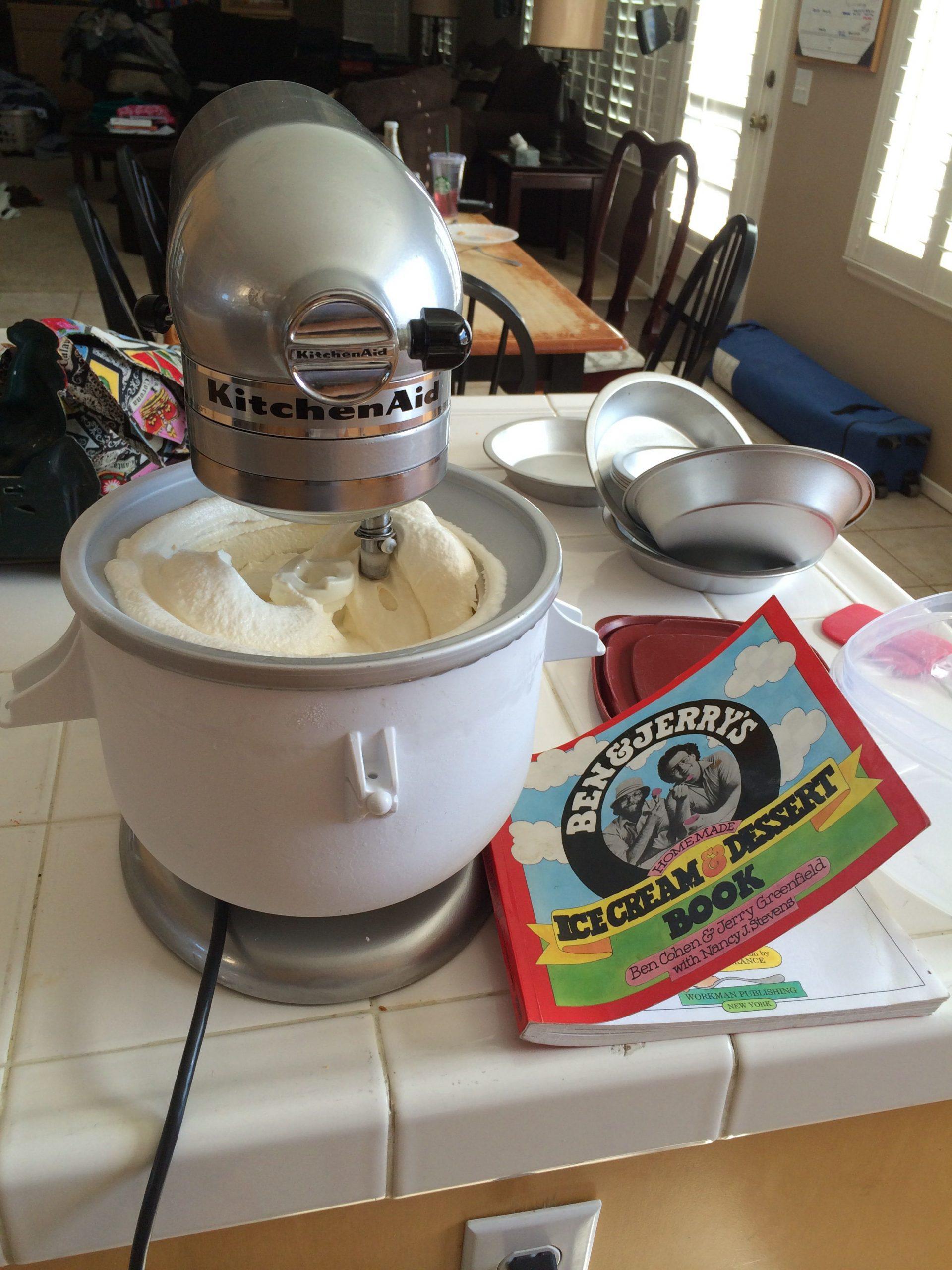 Kitchenaid Mixer Ice Cream