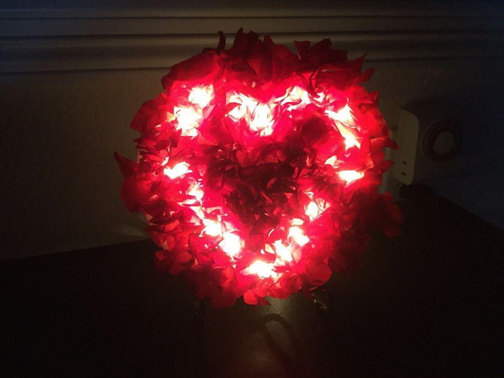 Light Up Valentine Decorations