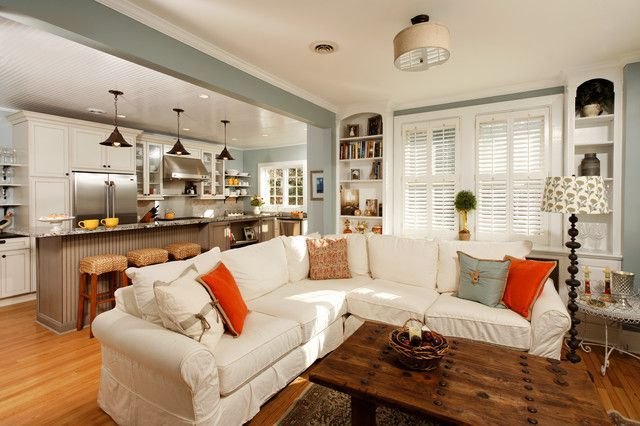 Small Kitchen Living Room Combo