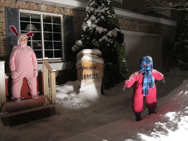 Christmas Story Outdoor Decorations