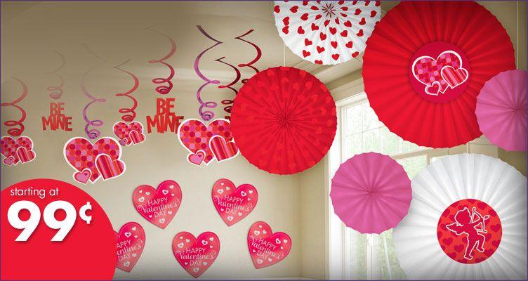 Party City Valentine Decorations