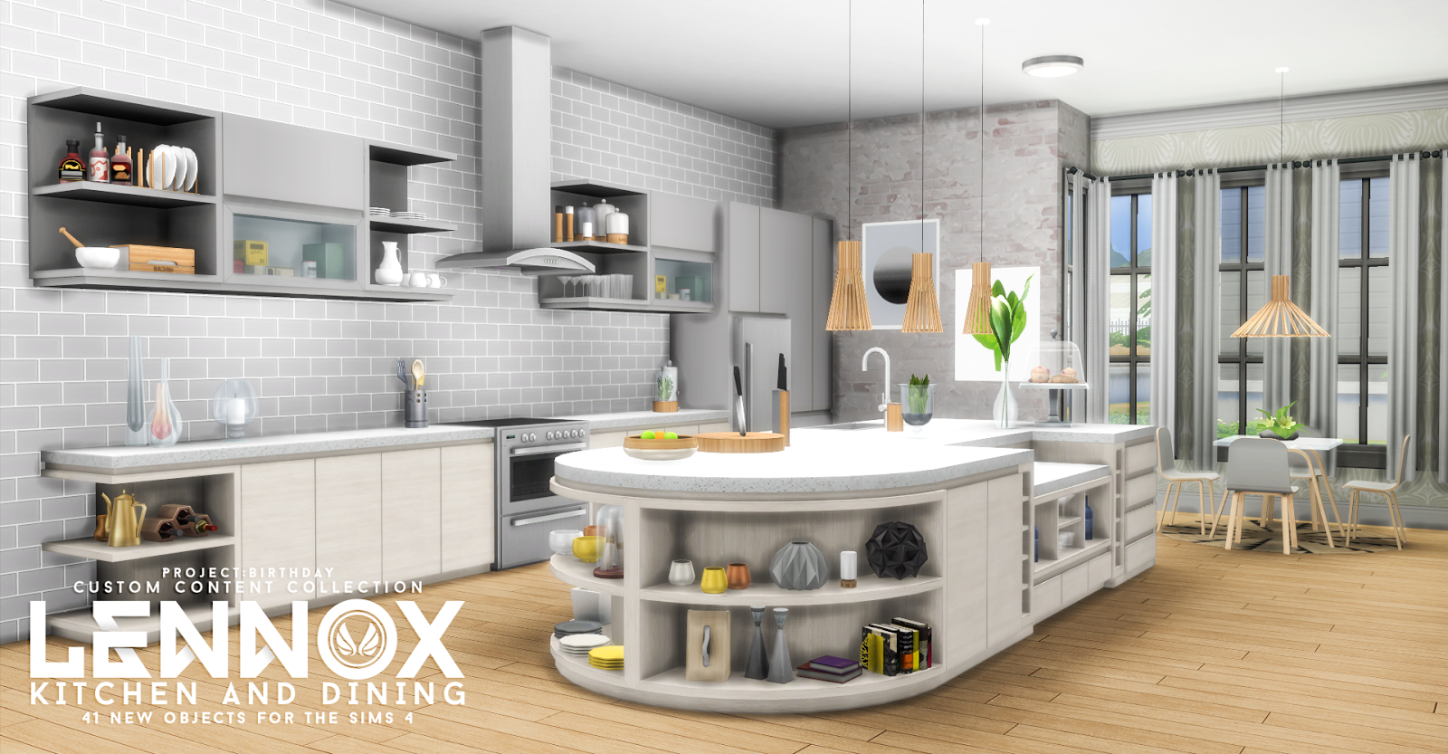 Sims 4 Kitchen Ideas