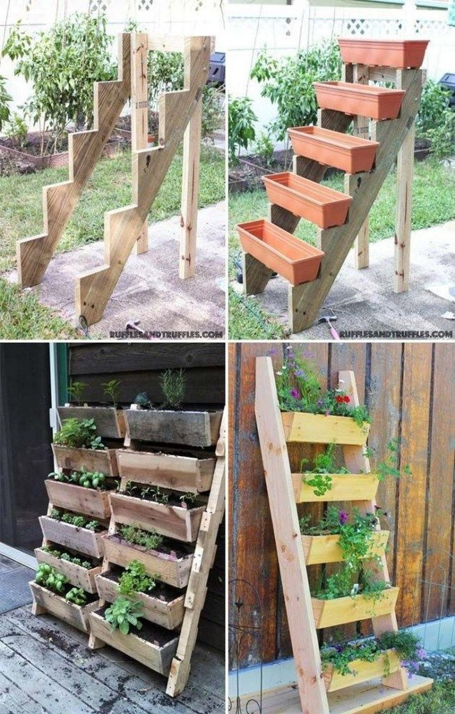 Space Saving Vegetable Garden Ideas