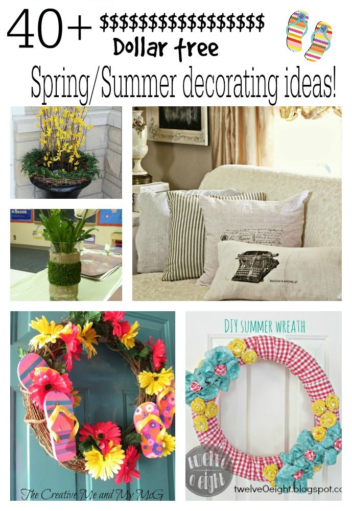 Dollar Tree Summer Decorations