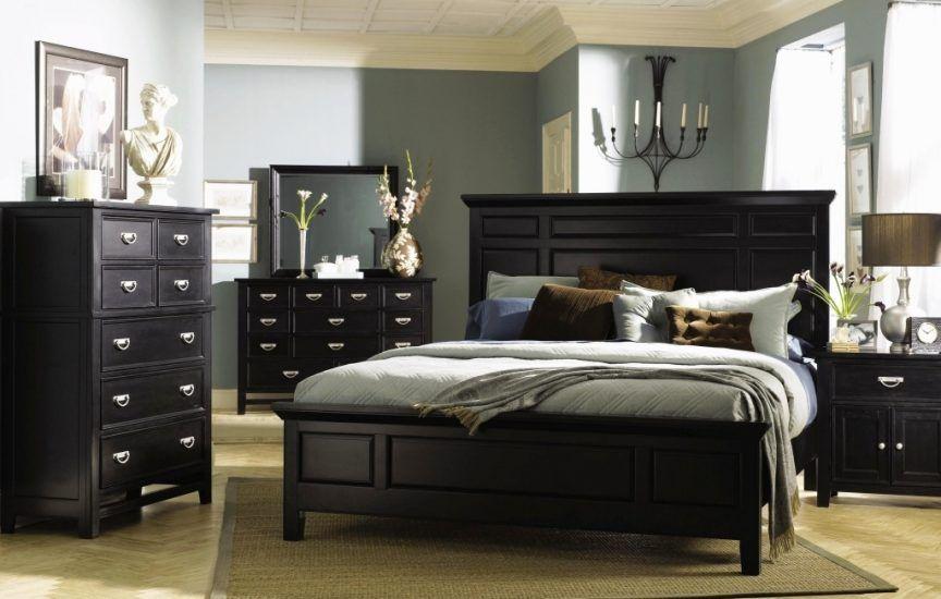 Black King Size Bedroom Set