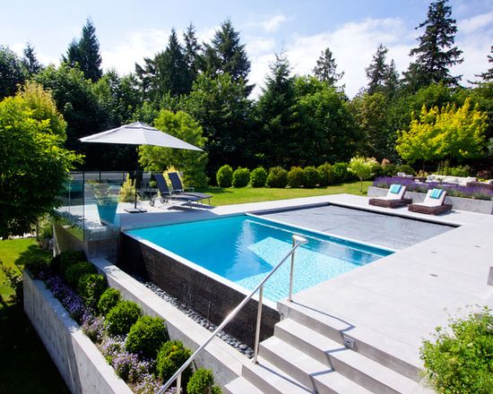 Pool In Front Yard