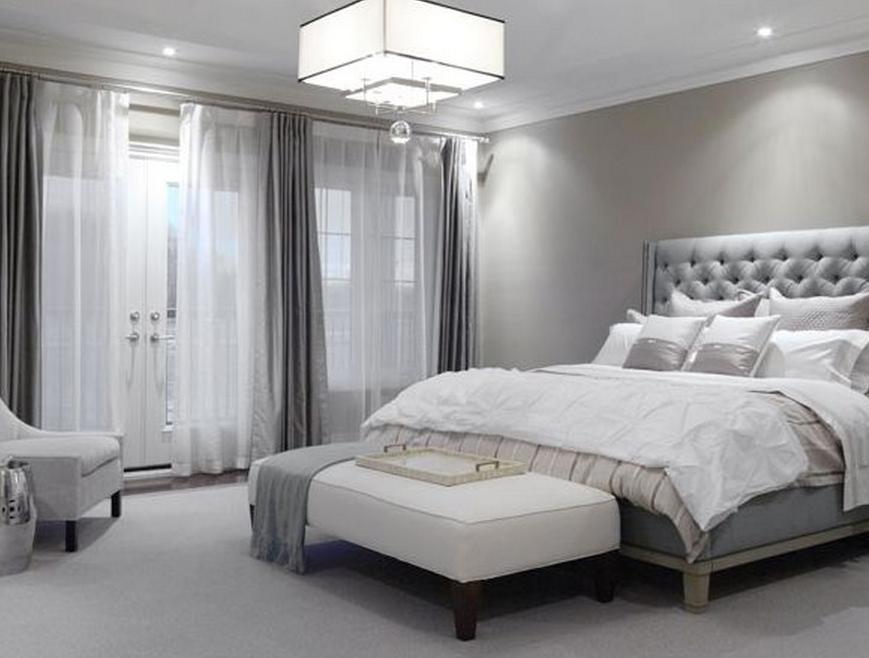 Modern Grey Bedroom