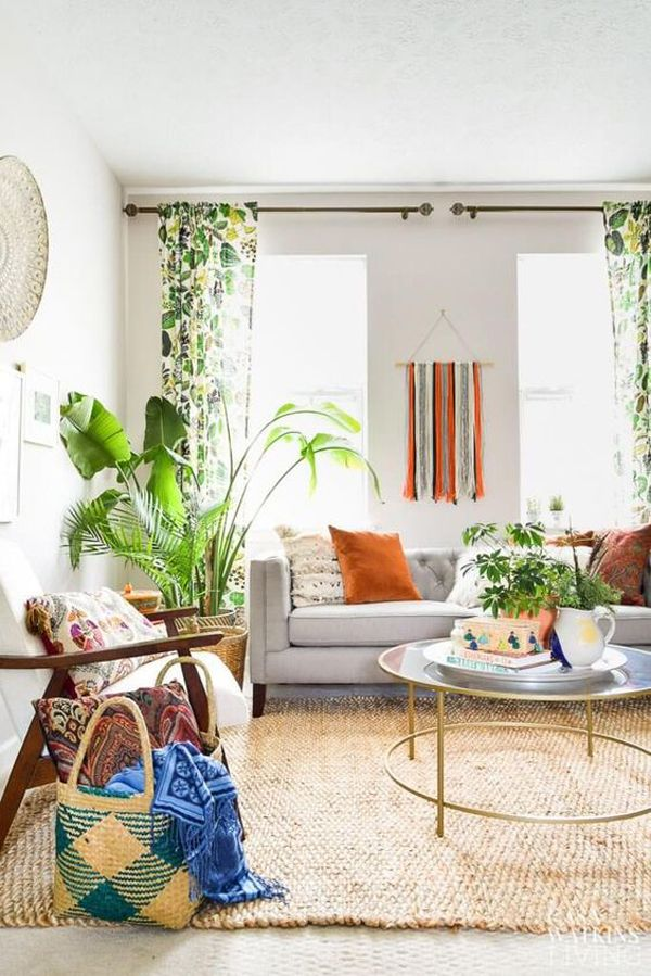 Summer Living Room Decor