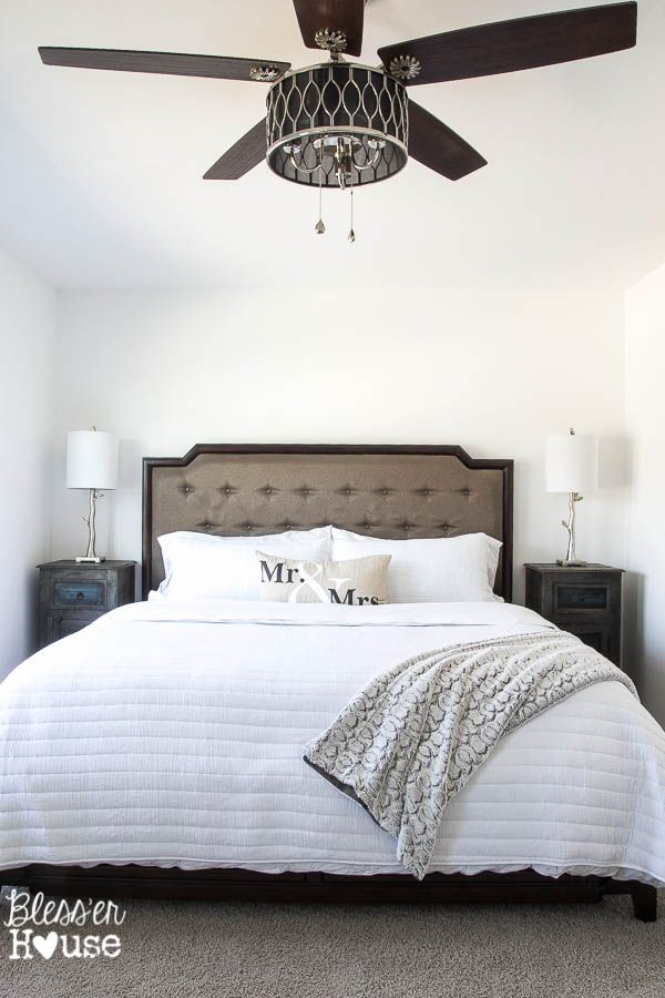 Master Bedroom Ceiling Fans