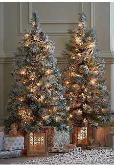 Mini Pre Lit Christmas Tree