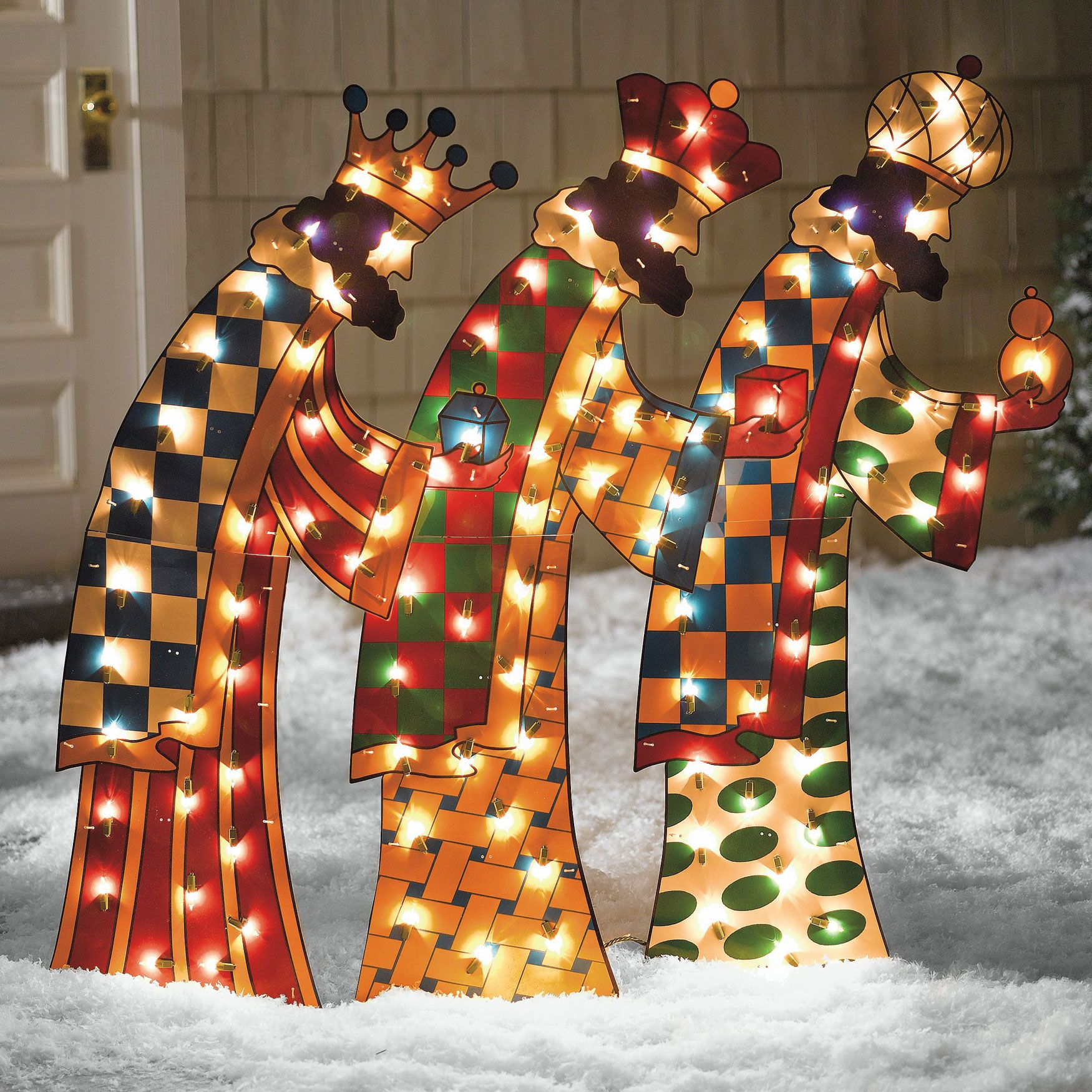 Three Kings Outdoor Decorations