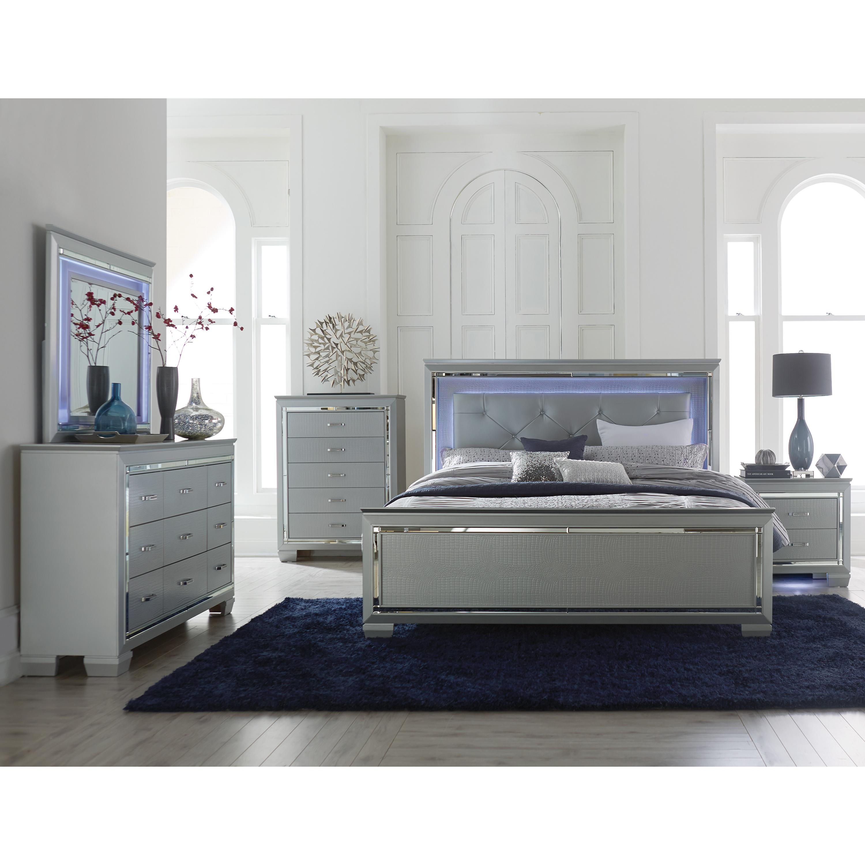 Light Up Bedroom Set