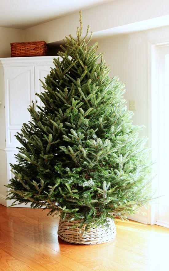 Christmas Tree Basket Skirt