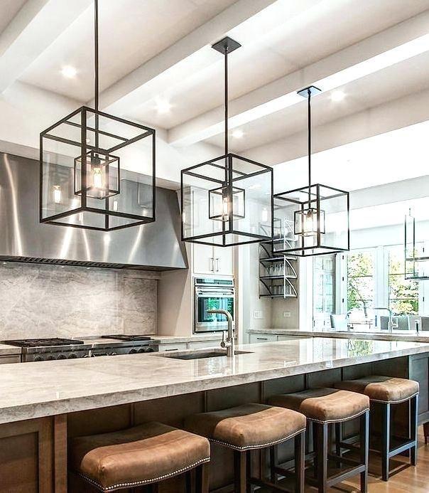 Modern Pendant Lighting For Kitchen Island