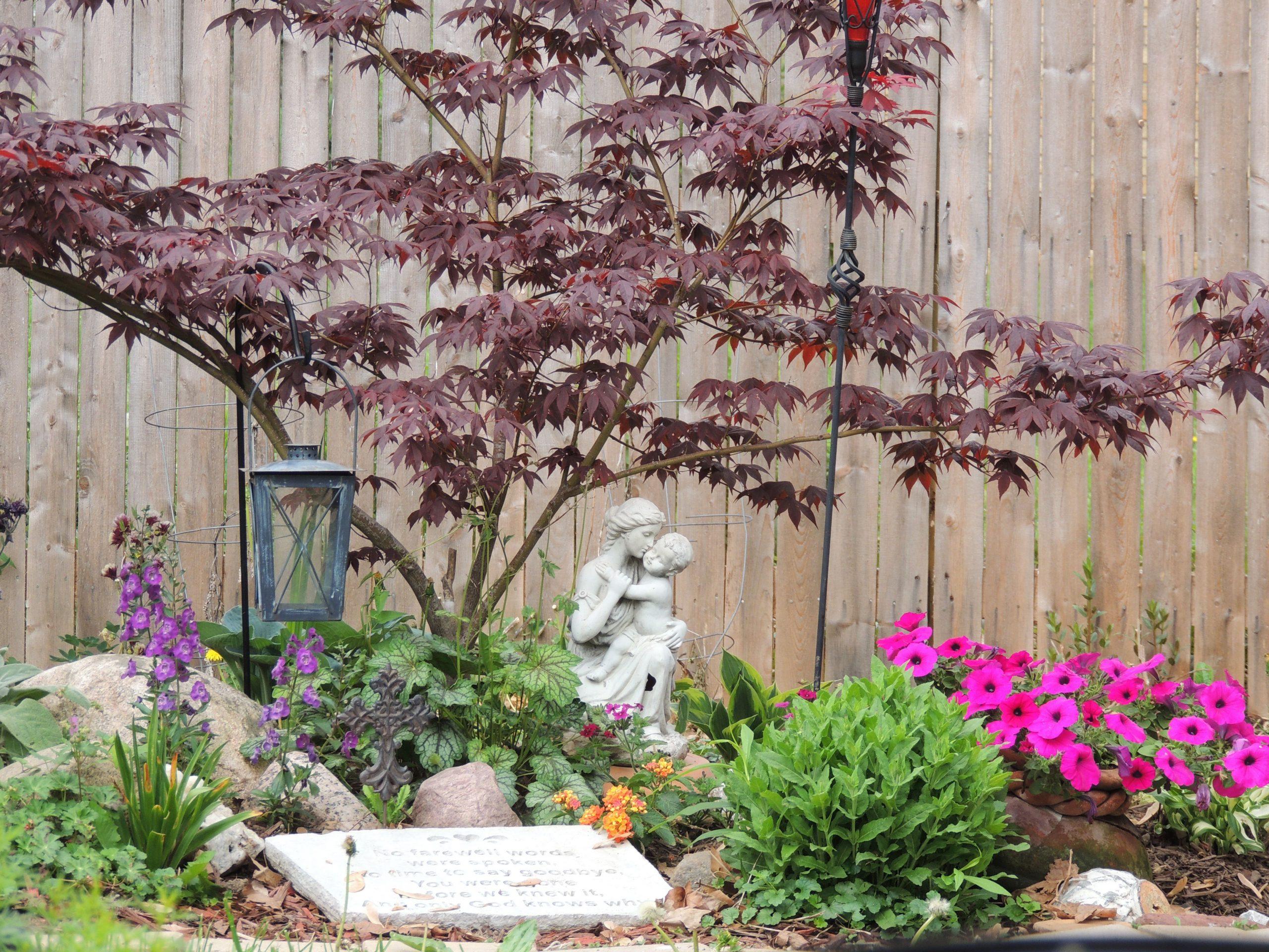 Memorial Garden Ideas For Son