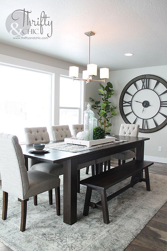 20 Modern Dining Room Wall Decor, Dining Room Wall Ideas