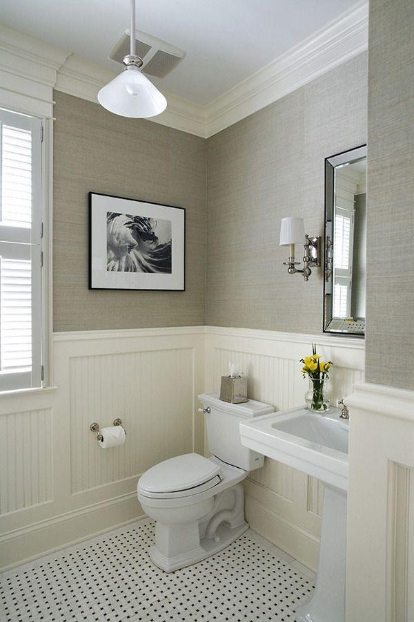 Bathroom Chair Rail
