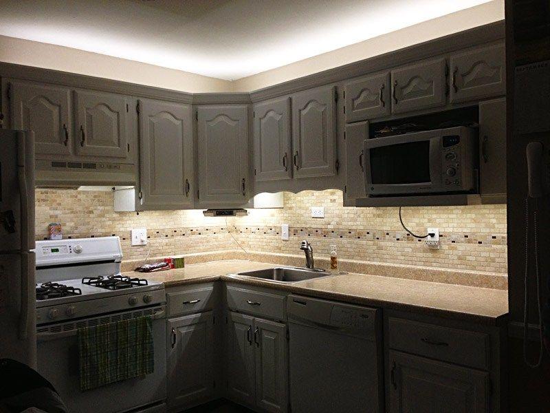 Led Lights For Kitchen Cabinets