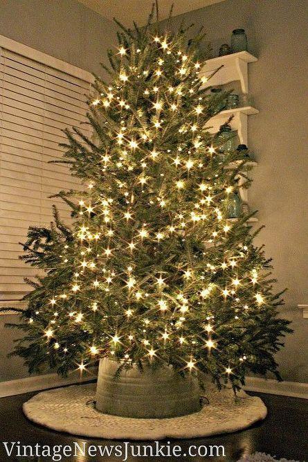 Christmas Tree Bucket Skirt
