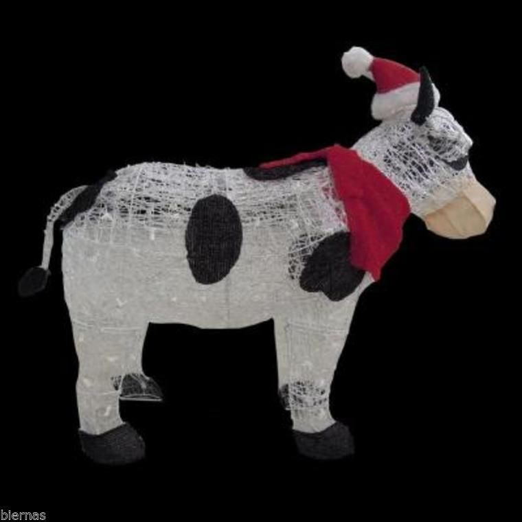 Christmas Cow Outdoor Decoration