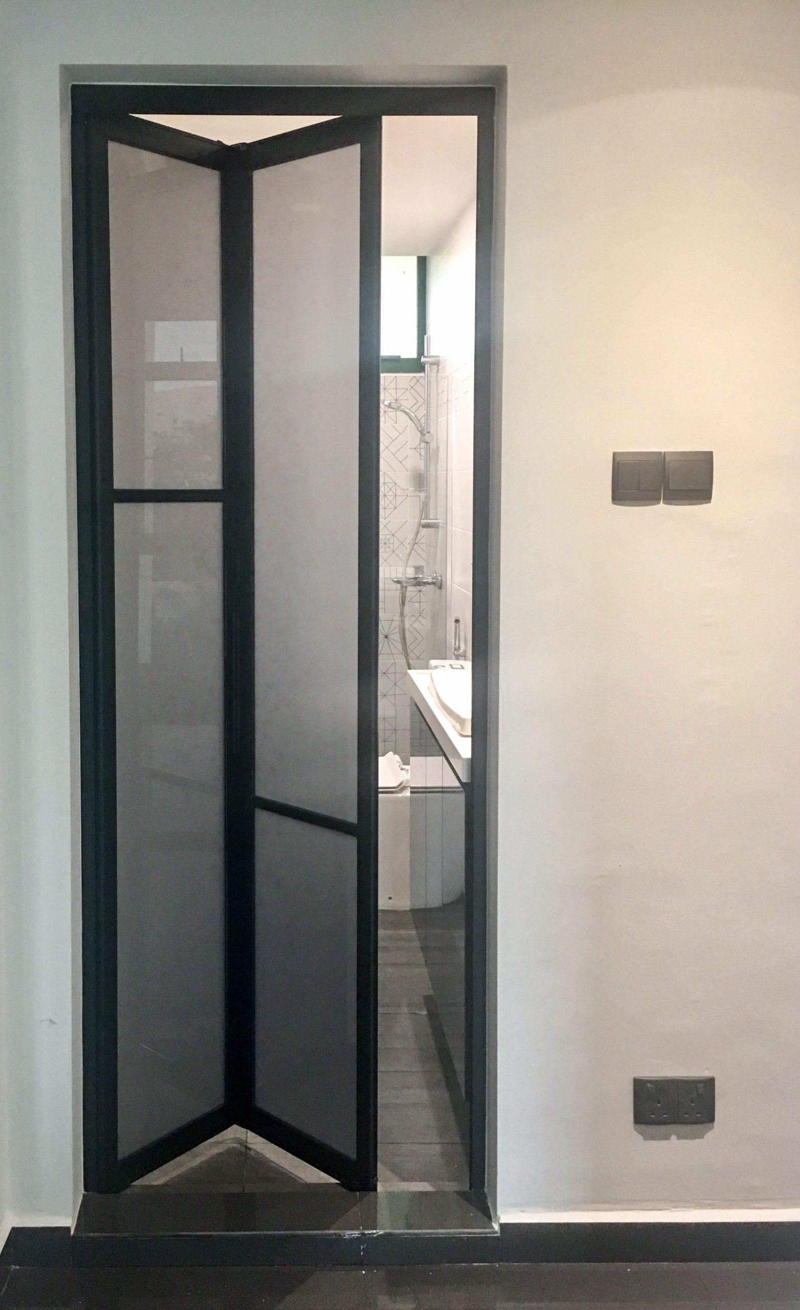 Bifold Bathroom Door