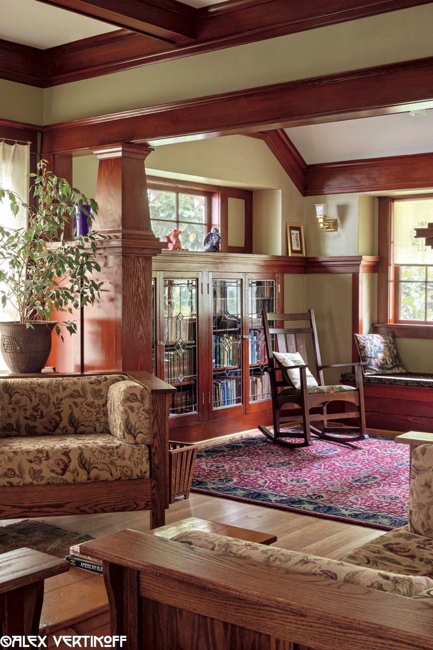 Craftsman Style House Interior