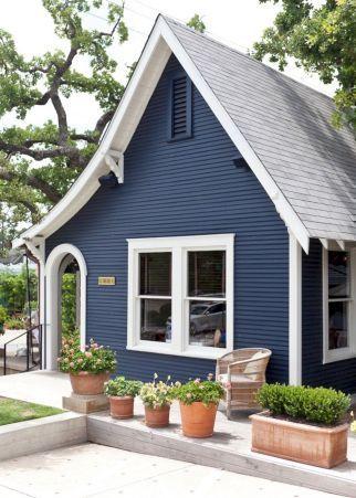 Blue Exterior Paint Colors
