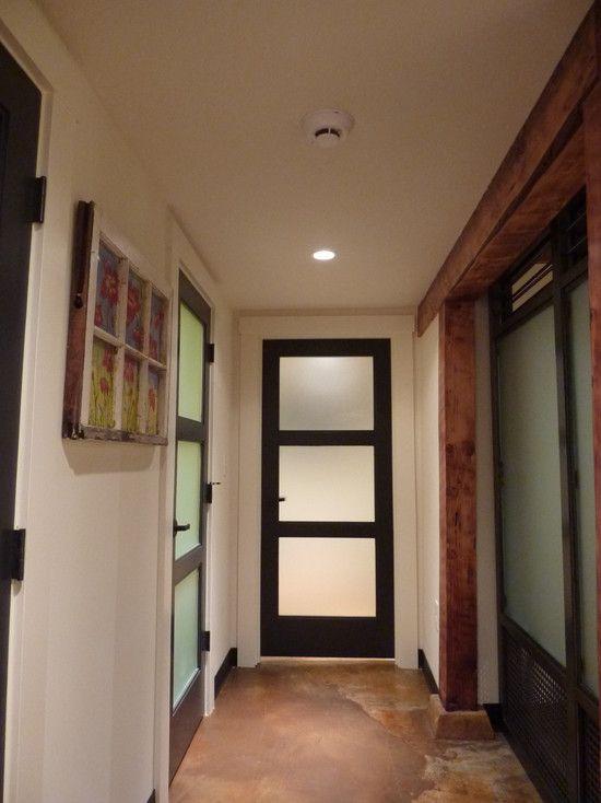 Glass Bedroom Door