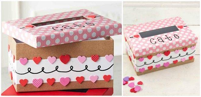 Valentine's Day Shoebox Decorating Ideas