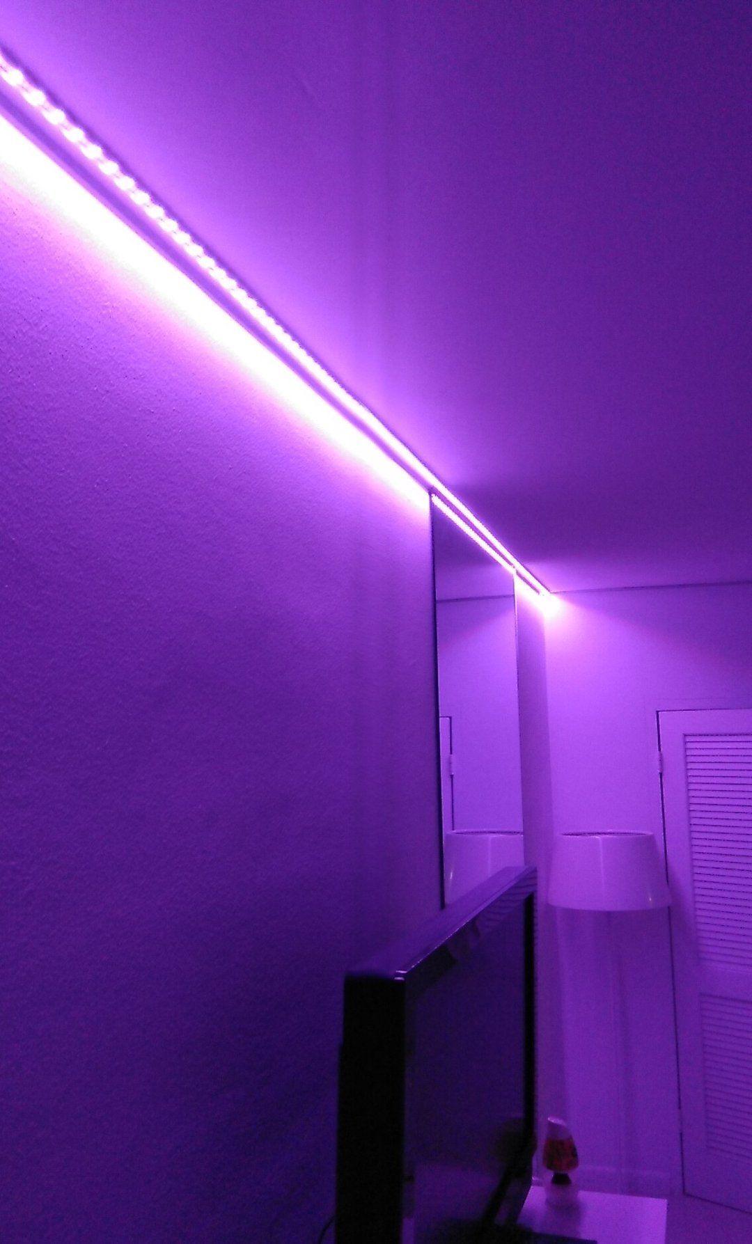 Bedroom Led Light Strips In Room
