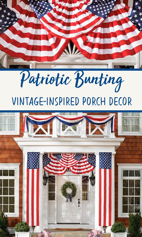 American Flag Outdoor Decor