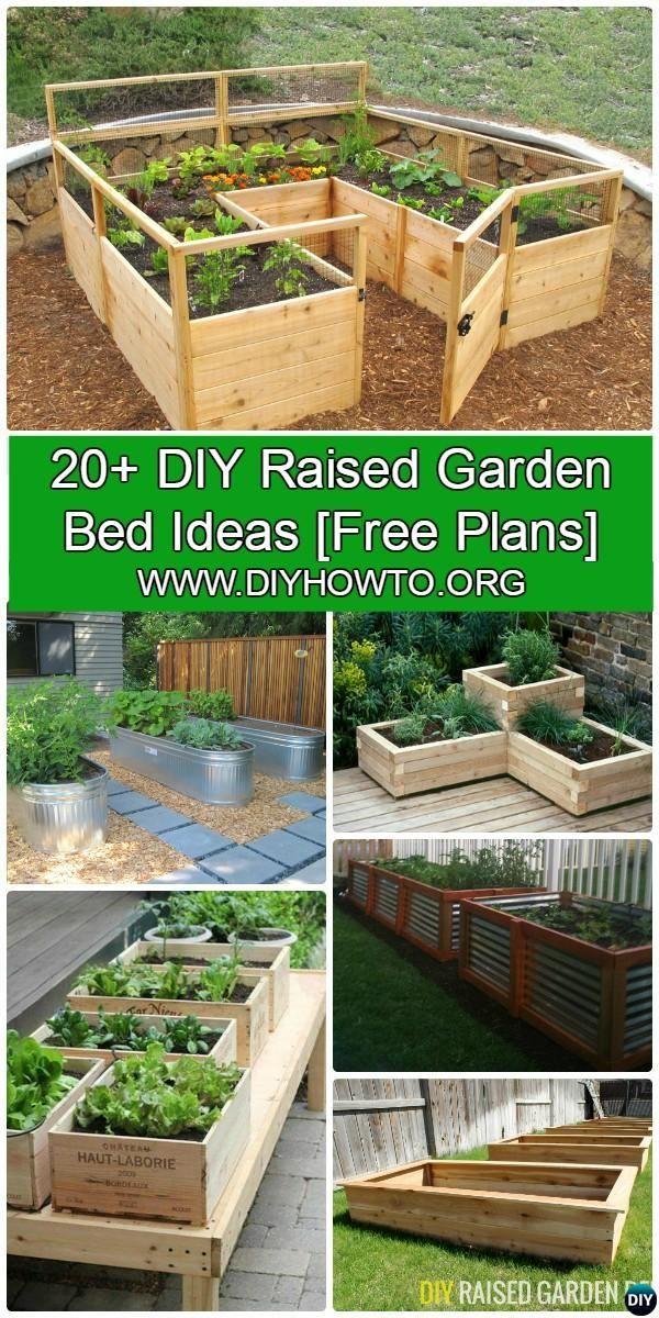 Raised Garden Ideas DIY