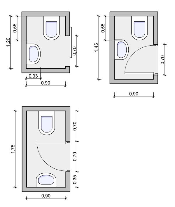 20 Small Bathroom Dimensions Magzhouse