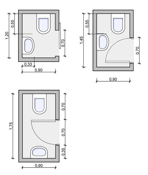 Small Bathroom Size