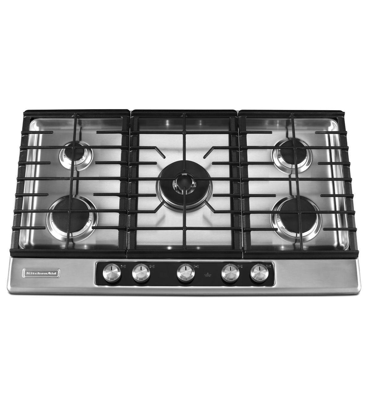 Kitchenaid 36 Gas Cooktop